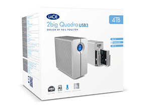 2big Quadra USB 3.0 Box Shot
