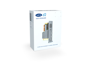 d2 SSD Upgrade for d2 Thunderbolt 2 & USB 3.0 Box Shot