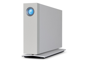 LaCie d2 Thunderbolt 2 Left Angle View