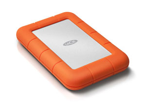 LaCie Rugged Thunderbolt USB 3.0 Right Angle View