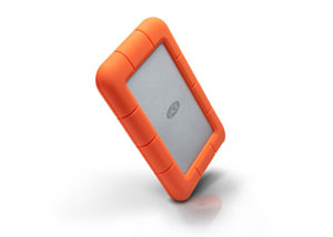 LaCie Rugged Thunderbolt USB 3.0 Edge View