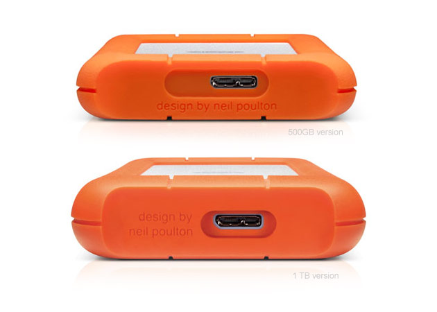 Lacie Rugged Mini Disk Usb 3 0 Back Compare Versions