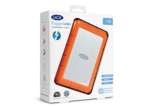 LaCie Rugged Thunderbolt USB 3.0 Box Shot