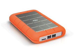 LaCie Rugged Triple USB 3.0 Right Back Angle View