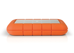 LaCie Rugged Triple USB 3.0 Side View